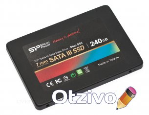 SSD Silicon Power Slim S55 (SP060GBSS3S55S25) 60Гб